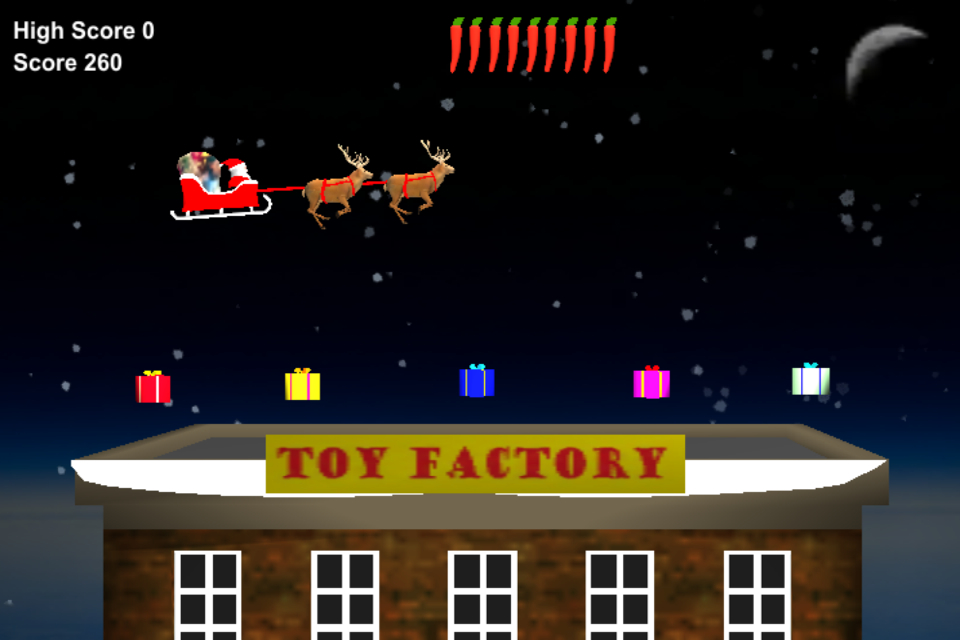 Screenshot Speedy Santa