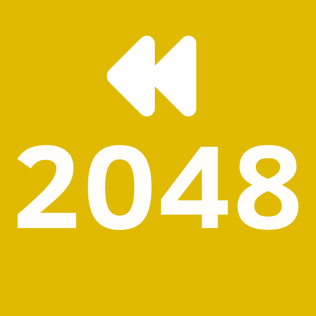 2048 Backwards - Puzzle Game